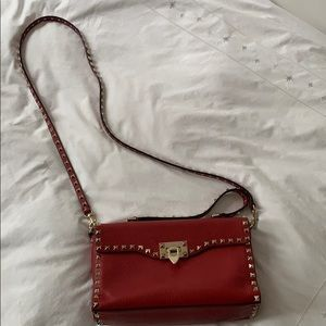 Valentino Rockstud Handbag, has slight pen mark